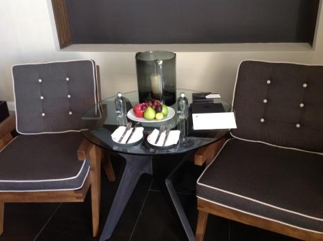 Nizuc Resort Bedroom Sitting Area