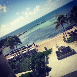 Nizuc Resort View from Balcony
